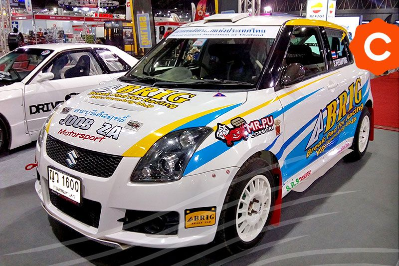 Bangkok-Auto-Salon-2018-Suzuki-Swift-Rally