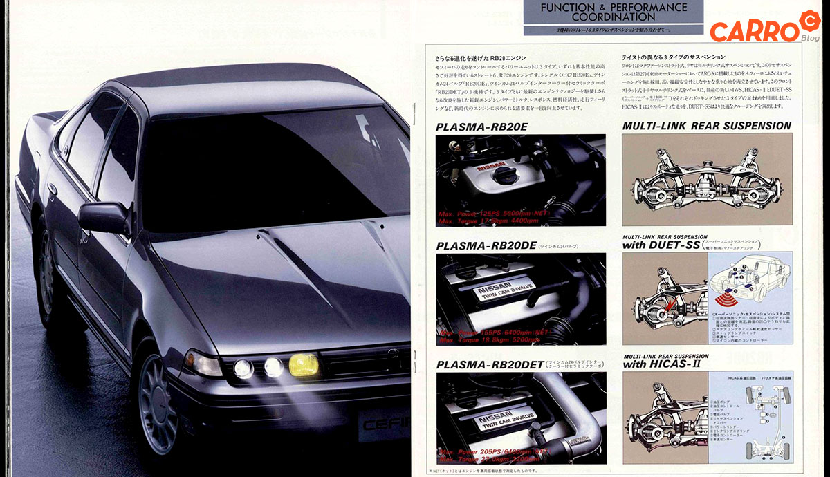 Nissan-Cefiro-A31-Catalogue