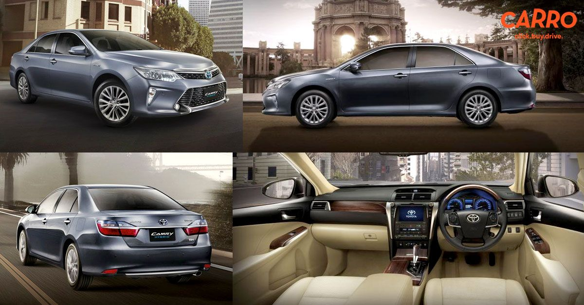 CARRO Automall แนะนำ Toyota Camry